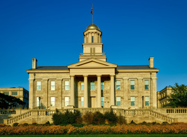 Iowa City Old Capital Building. Lepic-Kroeger, REALTORS® - Iowa City Real Estate
